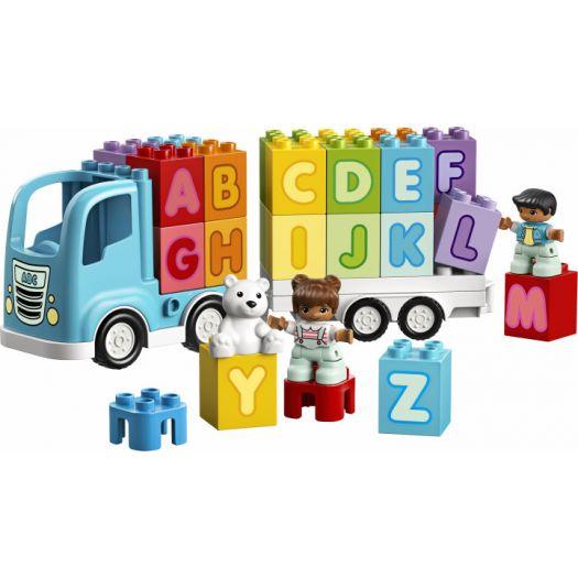Конструктор LEGO Duplo Вантажівка з буквами англійська (10915)замовити