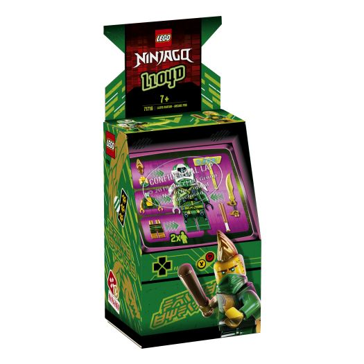 Конструктор LEGO Ninjago Аватар Ллойда - ігровий автомат (71716)замовити