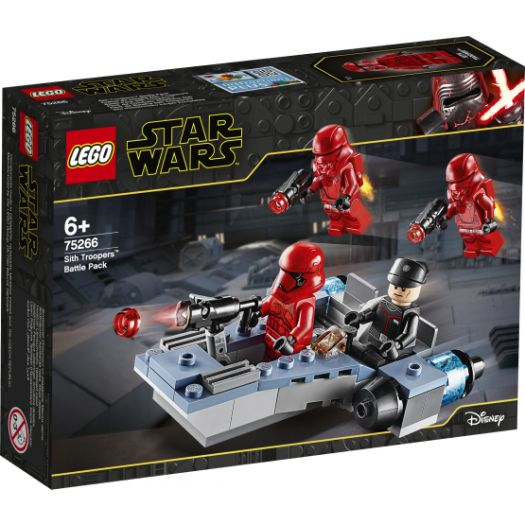 Конструктор LEGO Star Wars Бойовий набір штурмовики ситхів (75266)замовити