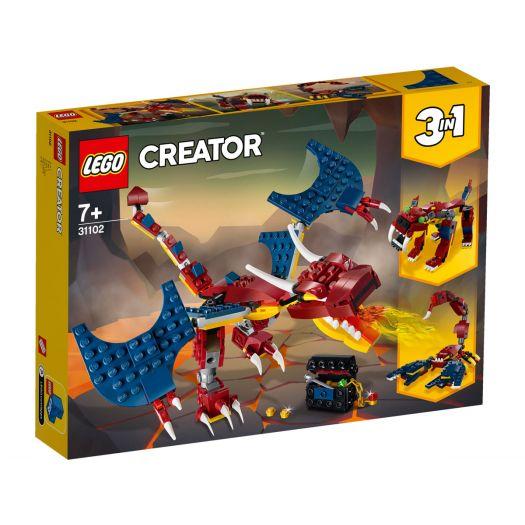 Конструктор LEGO Creator Вогняний дракон (31102)купити