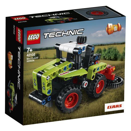 Конструктор LEGO Technic Mini CLAAS XERION 2в1 (42102)замовити