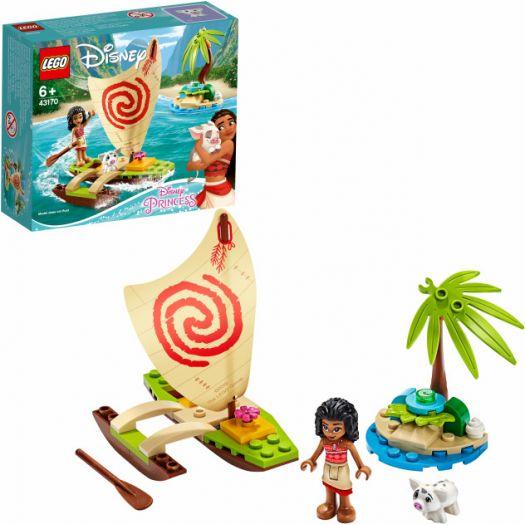 Конструктор LEGO Disney Princess Пригода Ваяни в океані (43170)замовити