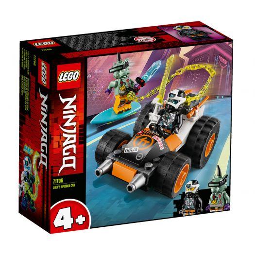 Конструктор LEGO Ninjago  Швидкісний автомобіль Коула (71706)купити