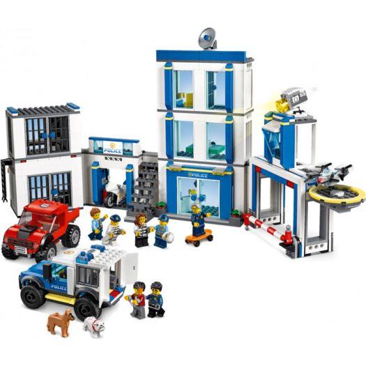 Конструктор LEGO City Поліцейська дільниця (60246)купити