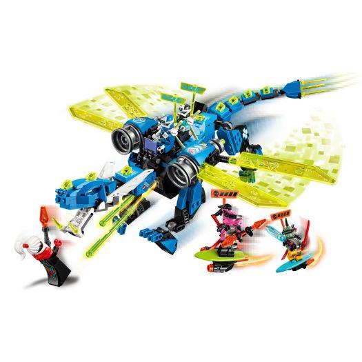 Конструктор LEGO Ninjago Кібердракон Джея (71711)замовити