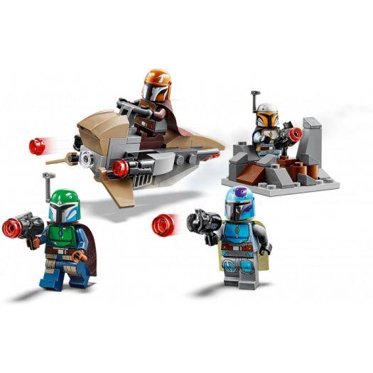 Конструктор LEGO Star Wars Бойовий набір мандалорців (75267)купити