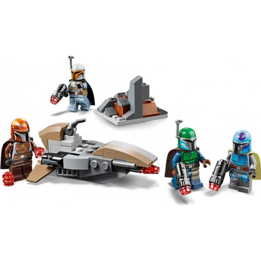 Конструктор LEGO Star Wars Бойовий набір мандалорців (75267)в Україні