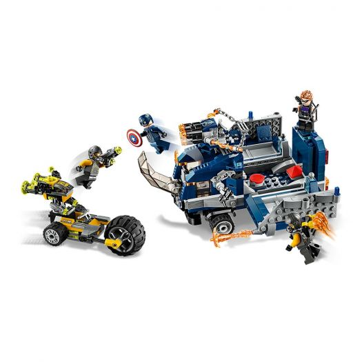 Конструктор LEGO Marvel Super Heroes Месники Пограбування вантажівки (76143)замовити