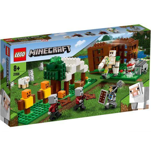 Конструктор LEGO Minecraft Лігво розбійників (21159)замовити