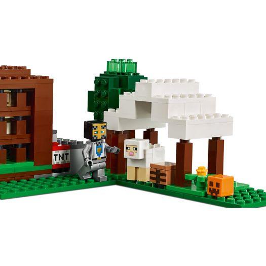 Конструктор LEGO Minecraft Лігво розбійників (21159)купити
