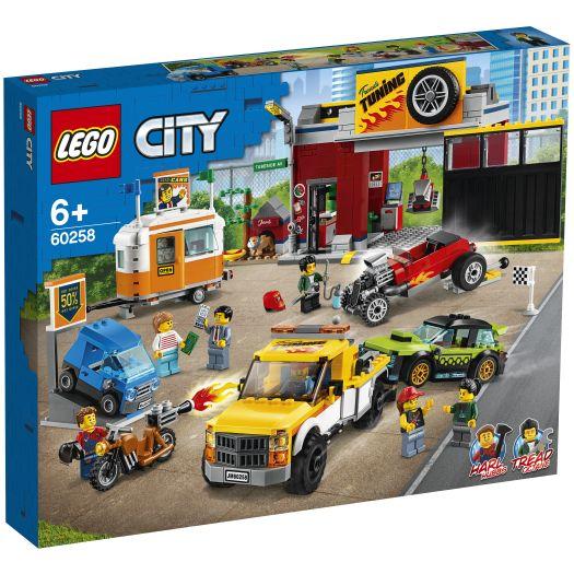 Конструктор LEGO City Тюнінг-майстерня (60258)купити