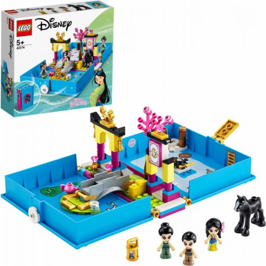 Конструктор LEGO Disney Princess Книга пригод Мулан (43174)купити