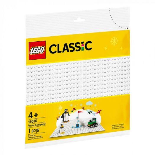 Конструктор LEGO Classic Біла базова пластина (11010)замовити