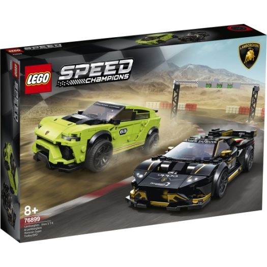 Конструктор LEGO Speed Champions  Автомобілі Lamborghini Urus ST-X та Lamborghini Huracán Super Trofeo EVO (76899)купити