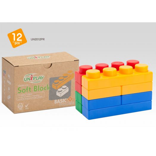 Конструктор дитячий Uniplay Basic з еластичними властивостями (UN2012PR)купити