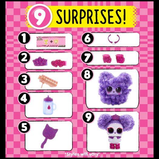 Ігровий набір LOL SURPRISE! S6 W1 серії Модні зачыски - Мый улюбленець (564881-W1)замовити