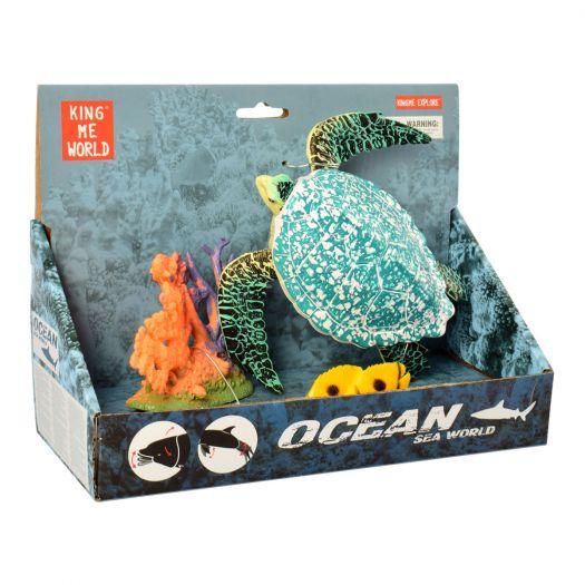 Ігровий набір King me world Черепаха (5501-11)в Україні