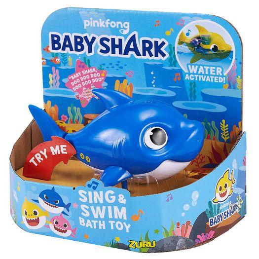 Інтерактивна іграшка для ванни Robo alive Junior Акула роботизована (25282B)купити