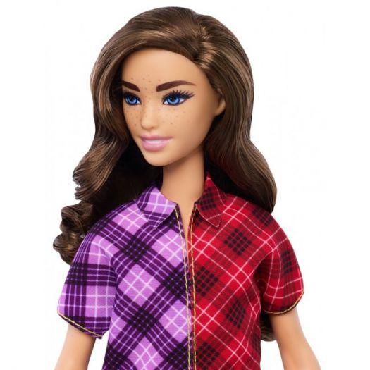 Лялька Barbie Fashionistas в клітчатій сукні (GHW53)купити