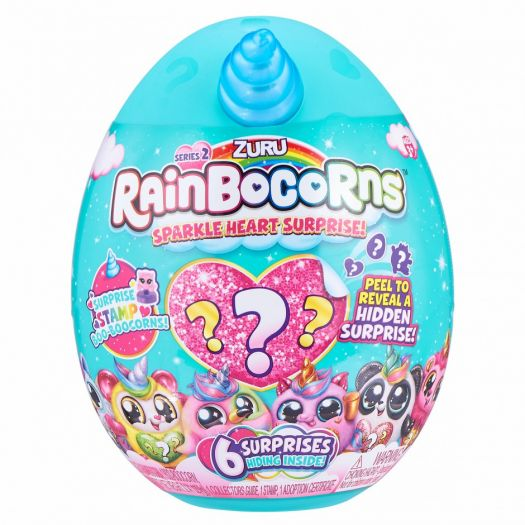 М'яка іграшка-сюрприз Rainbocorns-A Sparkle Heart Surprise 2 (9214A)купити