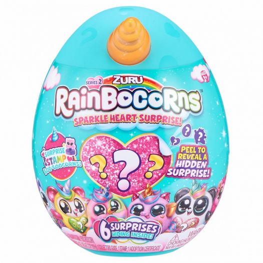 М'яка іграшка-сюрприз Rainbocorn-B Sparkle Heart Surprise 2 (9214B)замовити