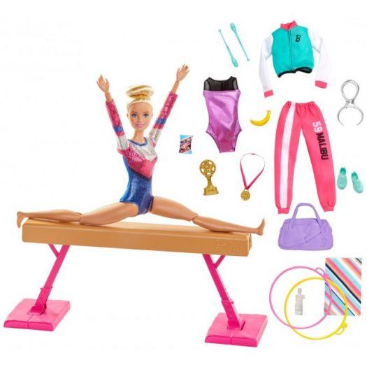 Ігровий набір Barbie You can be Гімнастка (GJM72)замовити