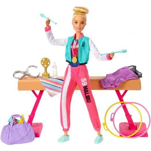 Ігровий набір Barbie You can be Гімнастка (GJM72)купити