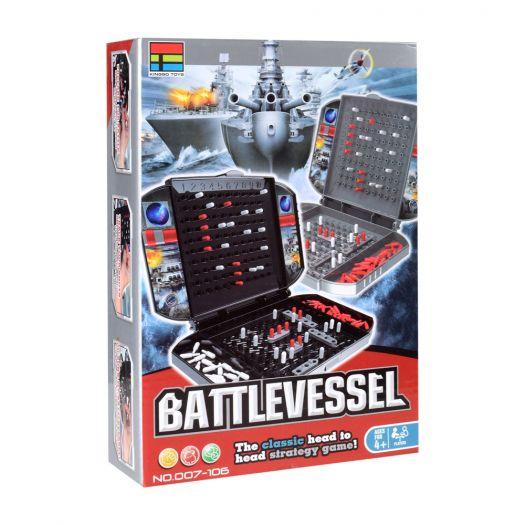 Настільна гра Kingso Toys Морський бій (дорожня) (007-106)замовити