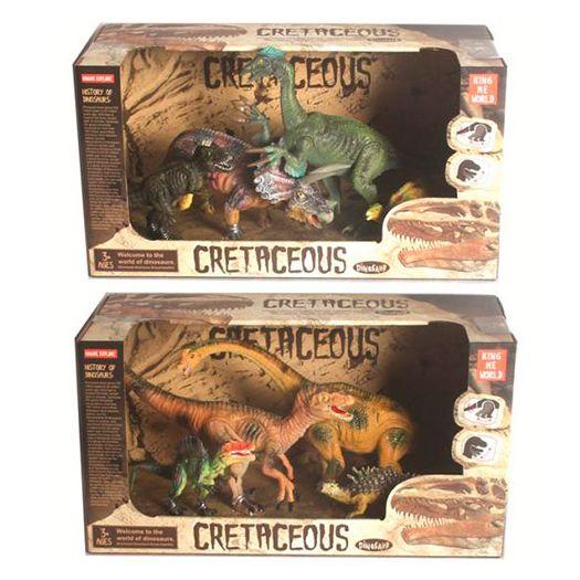 Ігровий набір King me world Динозаври в асорт.(4402-13)в Україні
