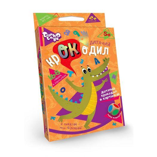 Настільна гра-вікторина Danko Toys Дитячий крокодил (укр) (ДТ-МН-14-20)купити