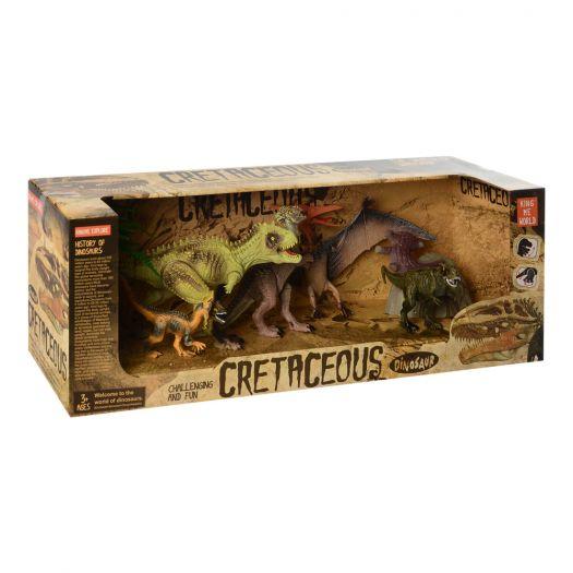 Ігровий набір King me world Динозаври в асорт.(4403-12)замовити