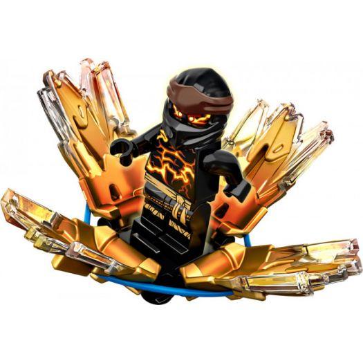 Конструктор LEGO Ninjago Турбо спін-джитсу Коул (70685)купити