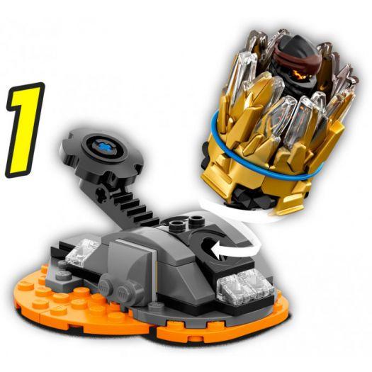 Конструктор LEGO Ninjago Турбо спін-джитсу Коул (70685)замовити