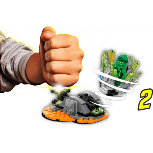 Конструктор LEGO Ninjago Турбо спін-джитсу Ллойд (70687)купити