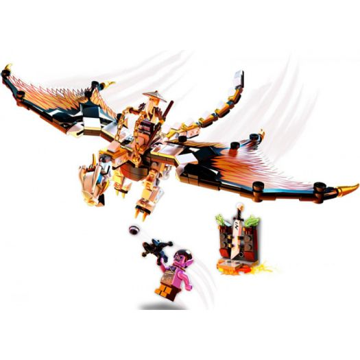 Конструктор LEGO Ninjago Бойовий дракон Ву (71718)замовити