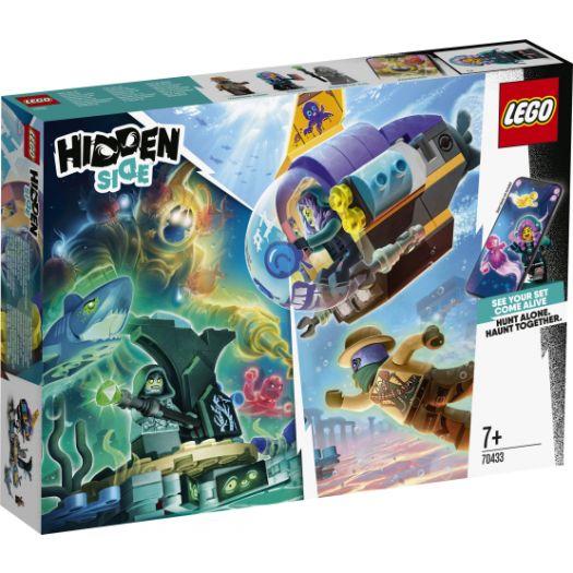 Конструктор LEGO Hidden Side Підводний човен Джей-Бі (70433)в Україні