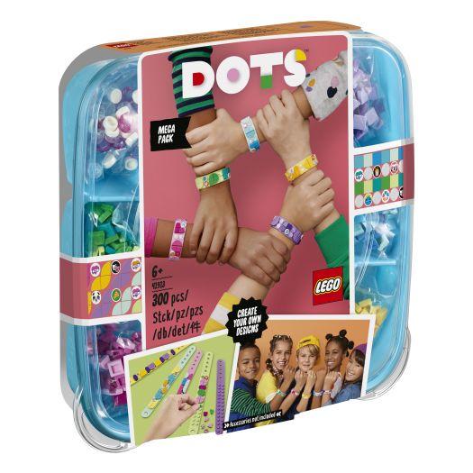 Конструктор LEGO Dots Браслети Мега упаковка (41913)купити