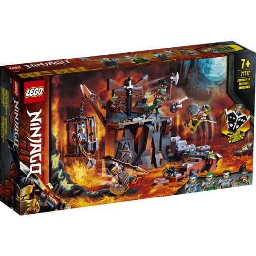 Конструктор LEGO Ninjago Подорож до Підземель черепа (71717)купити