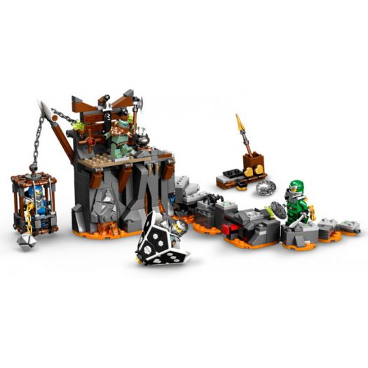 Конструктор LEGO Ninjago Подорож до Підземель черепа (71717)в Україні