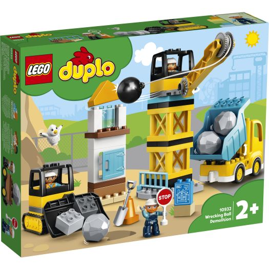 Конструктор LEGO Duplo Нищівний кулястий таран (10932)купити
