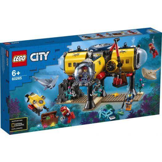 Конструктор LEGO City Океан Науково-дослідна станція (60265)в Україні
