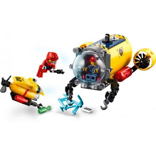 Конструктор LEGO City Океан Науково-дослідна станція (60265)купити