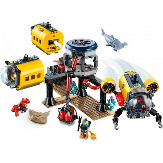 Конструктор LEGO City Океан Науково-дослідна станція (60265)замовити