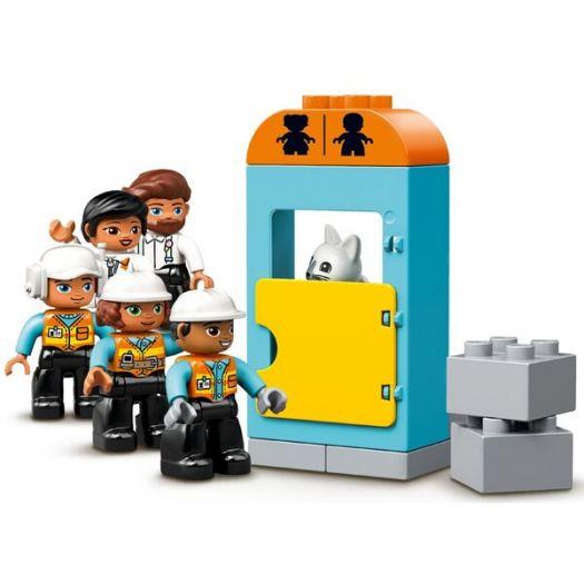 Конструктор LEGO Duplo Підіймальний кран і будівництво (10933)в Україні