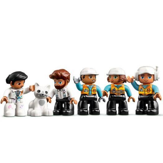 Конструктор LEGO Duplo Підіймальний кран і будівництво (10933)купити