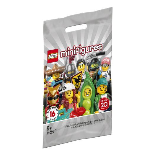 Фігурка-сюрприз LEGO Minifigures Серія 20 (71027)в Україні