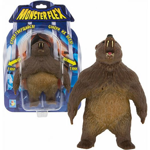Іграшка-антистрес Monster Flex Грізлі (90006)в Україні