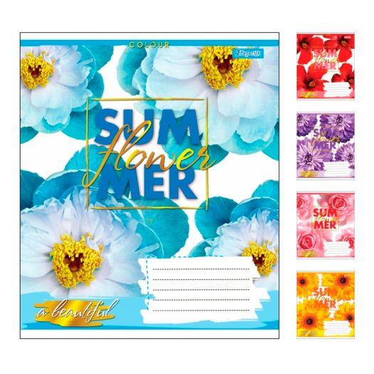 Зошит учнів, А5/24 кл. 1В SUMMER FLOWER (764581)купити
