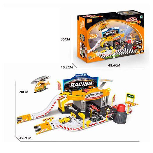 Ігровий набір паркінг Six-six-Zero Гоночний піт стоп (660-A15)замовити