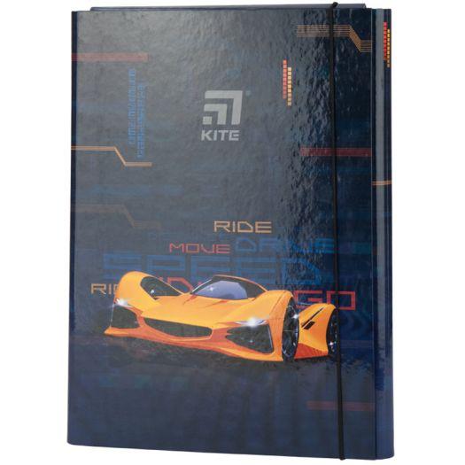 Папка для зошитів KITE Fast Cars на гумці (K20-213-02)замовити